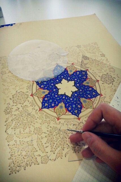 Artist Zehra Akdeniz Islamist illumination