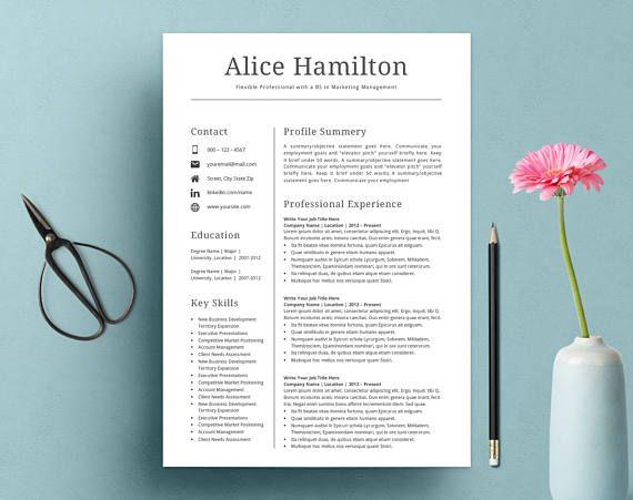 Resume Template CV Template Resume Template Word