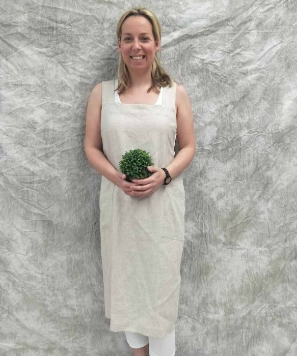 Pure French Linen Pinafore | The Store by Fairfax