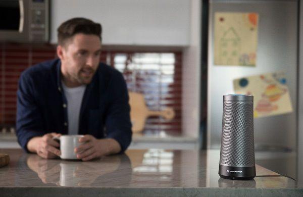 Harman Kardon unveils Cortana-powered voice-activated speaker the Invoke - Price Availability #Drones #Gadgets #Gizmos #PowerBanks #Smartpens #Smartwatches #VR #Wearables @GadgetsEden  #GadgetsEden