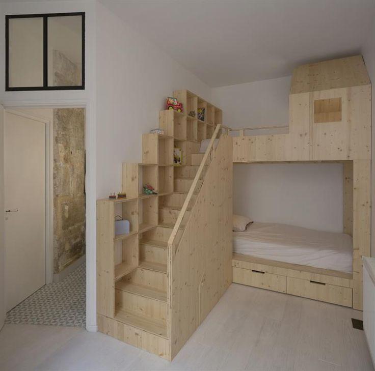 Les 25 meilleures idées de la catégorie Chambre avec lit mezzanine ...