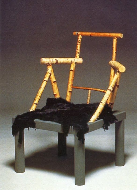 _Branzi_Andrea,_stoel_Animali_Domestici,_1985.