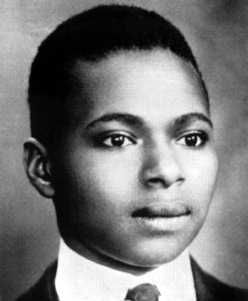Countee Cullen (May 30, 1902 - January 9, 1946) was a leading poet of the Harlem Renaissance. Raised by Rev. Frederick Cullen, pastor of Harlem's Salem Methodist Episcopal Church and local NAACP President, he excelled in school and earned a Master's Degree from Harvard. In 1928 Cullen was awarded a Guggenheim fellowship to write poetry in France, and he married Nina Yolande DuBois, the daughter of W. E. B. DuBois. #TodayInBlackHistory