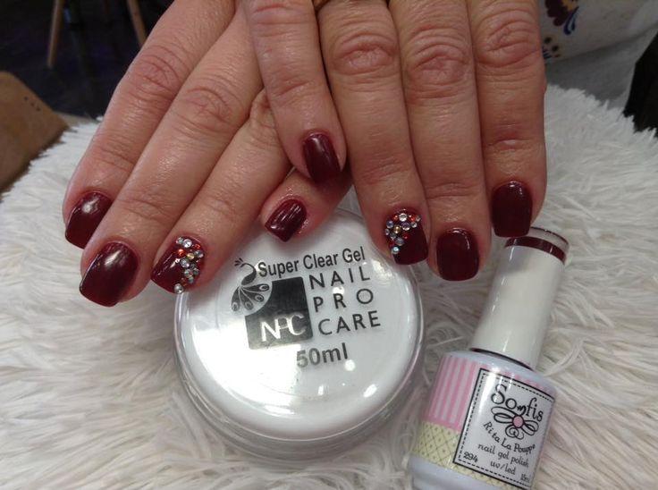 #nails #nailart2016 #nailprocare #somfis #gel