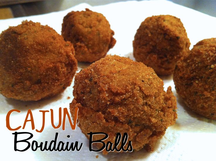been SO addicted to the neighborhood Cajun restaurant's boudin balls ...