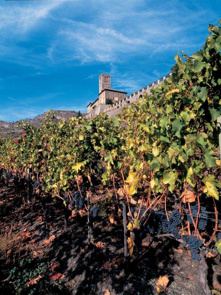 Il castello Reale di Sarre in Valle d'Aosta