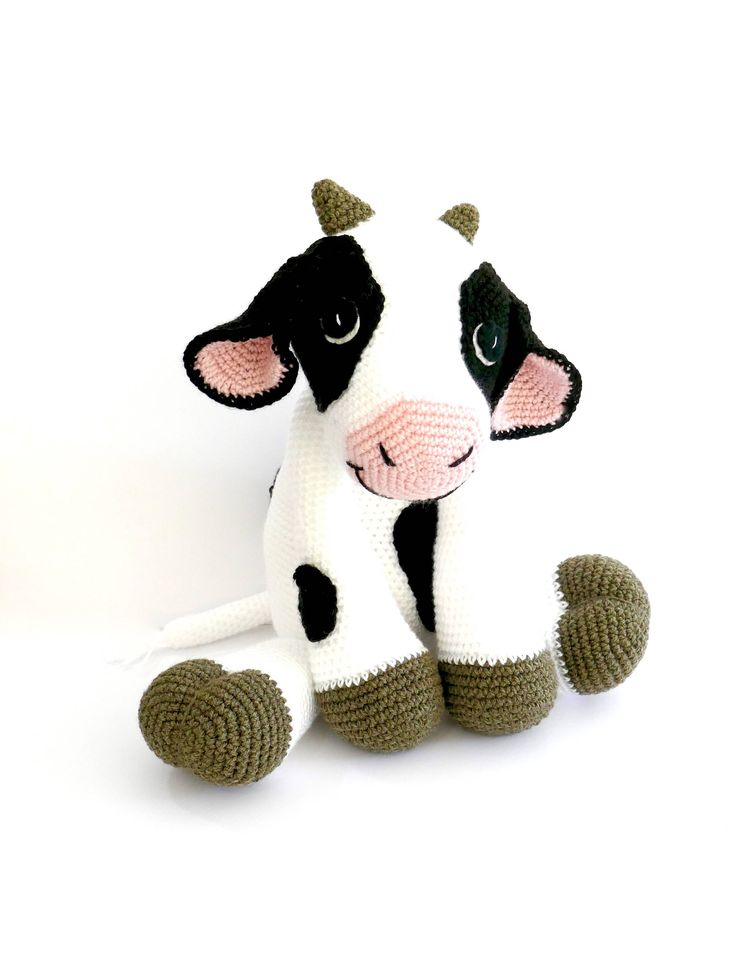 This sweet cow is looking for a new home to be loved