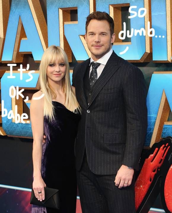Chris Pratt's Recent Comments Have Him Up At Night — See Anna Faris' Twitter Defense!