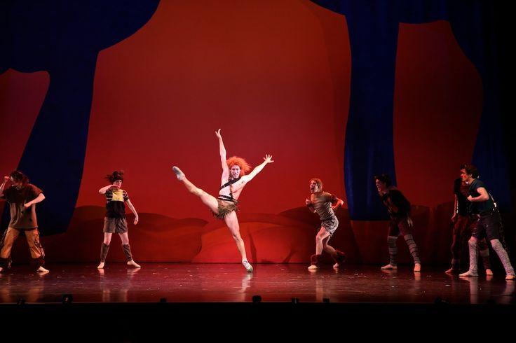 Queensland Ballet's Camilo Ramos in Peter Pan, choreographed by Trey McIntrye, Photographer David Kelly