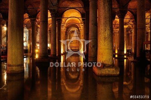 http://www.dollarphotoclub.com/stock-photo/Underground Basilica Cistern - Yerebatan Sarayi/68459319 Dollar Photo Club millions of stock images for $1 each