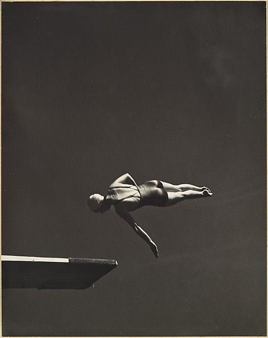 Olympic High Diving Champion, Marjorie Gestring, San Francisco, by John Gutman, 1936. The Metropolitan Museum of Art