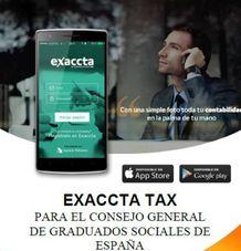 EXACCTA llevará sus soluciones móviles a los Graduados Sociales.