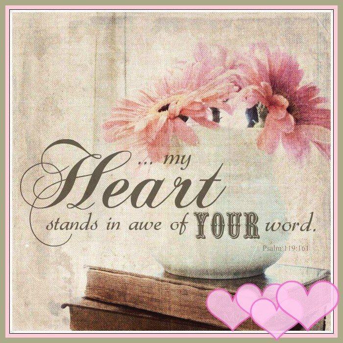 Salmos 119:161 Príncipes me han perseguido sin causa, Pero mi corazón tuvo temor de tus palabras