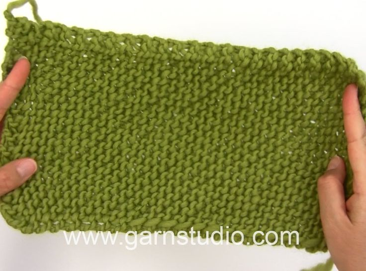 DROPS Knitting Tutorial: How to work a blanket from corner to corner