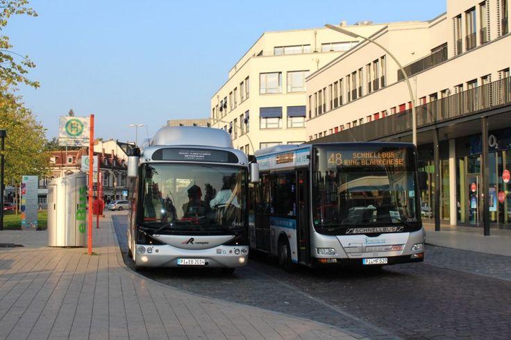 Zwei VHH-Bergziegen. Linie 48, Blankenese (Start am S-Bahnhof in Blankenese)