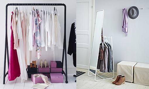 Burros para colgar ropa de ikea vestidor pinterest - Burros para ropa ...