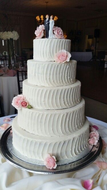 Cake Wedding Cake By Confectionate Cakes Raleigh NC Wedding Cakes