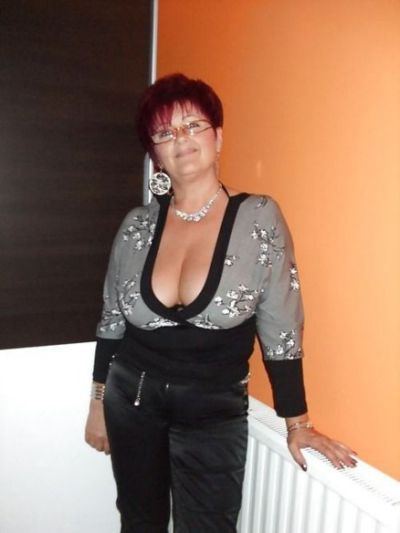 Proud saggy grannies cleavage share your