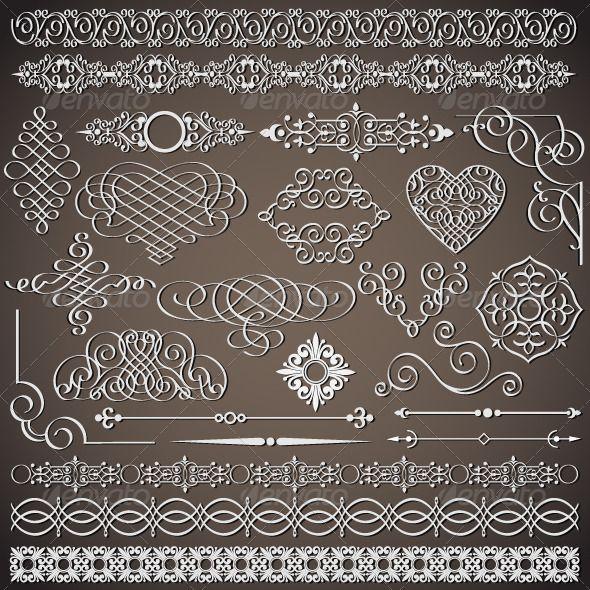 Vectors – Vintage Design Elements | GraphicRiver