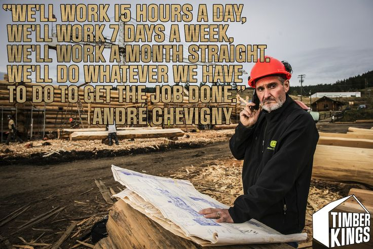 Words to live by from Andre Chevigny.