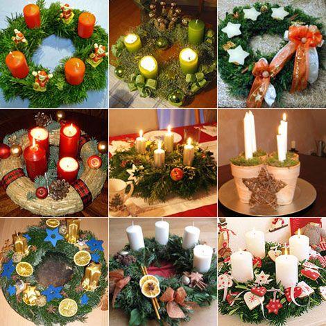La corona dell'avvento. Speciale Natale - www.Sottocoperta.net
