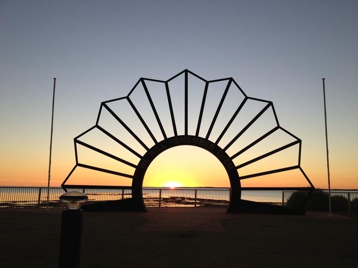 Onslow War Memorial western Australia