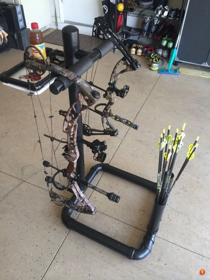 Simple PVC Bow Stand - Page 3