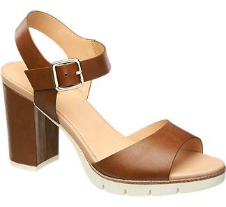 Sandalette+von+graceland+in+braun+ +deichmanncom  1343889 p