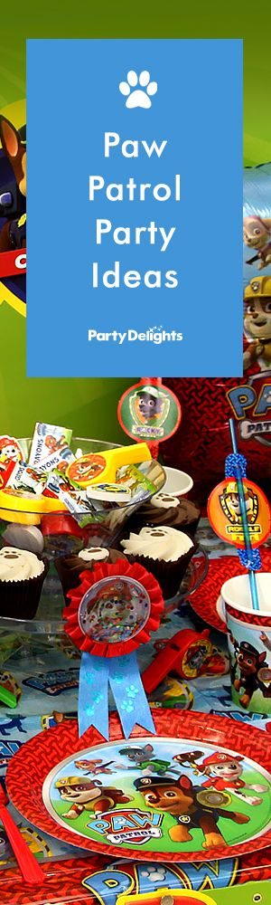 If your child loves Paw Patrol, they'll love this adorable Paw Patrol birthday party! Read our Paw Patrol party ideas for decorating tips, food ideas and party games inspired by their favourite TV show!