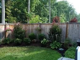 Image result for landscaping along fence on shades hill