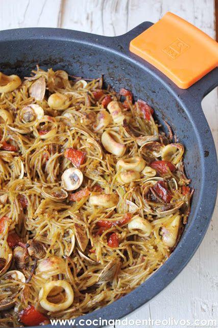 Cocinando entre Olivos: La caja sorpresa Degustabox y la receta paso a paso de Fideua.