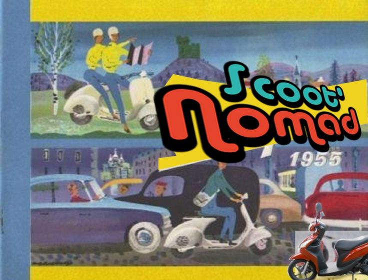 39 best balade en scooter avec scoot nomad drome images on. Black Bedroom Furniture Sets. Home Design Ideas