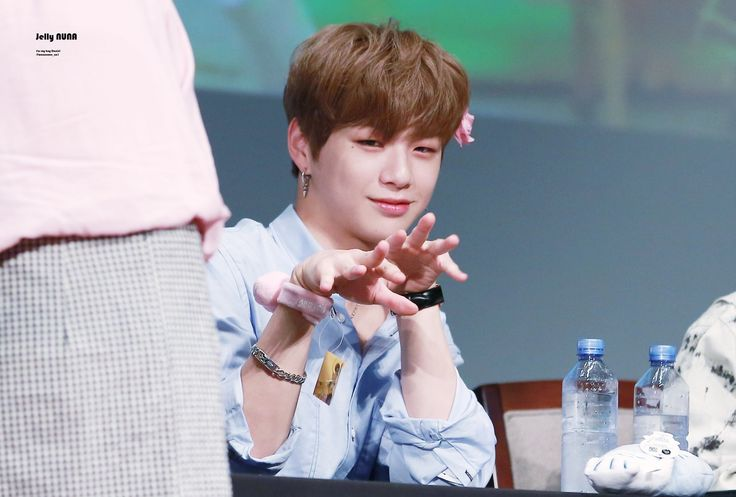 #Wanna One #Kang Daniel #Fansign