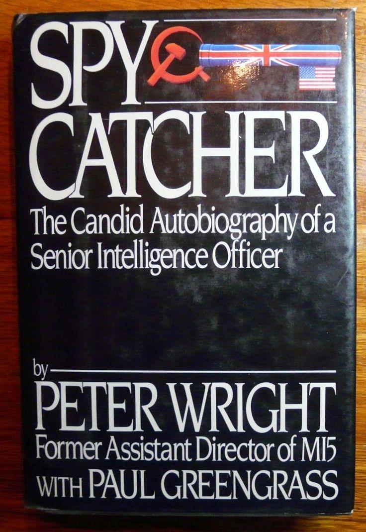 Spy Catcher by Peter Wright HC w/DJ Viking 1987 MI5 Espionage History | Books, Nonfiction | eBay!