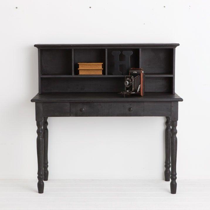 Black Antique Wooden Desk