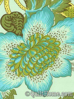Organic Soul ORAB002-Lime Peel Organic Fabric by Amy Butler