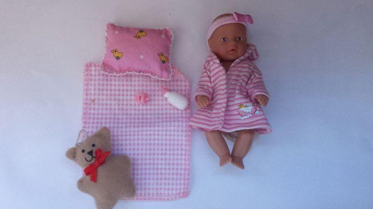 Zapf Creation Baby Born Mini World doll with accessories