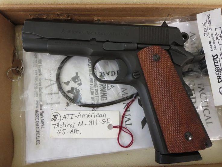 Used ATI 1911 .45 acp w/ box $395 - http://www.gungrove.com/used-ati-1911-45-acp-w-box-395-2/