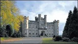 Airth Castle, Scotland. 14th century castle hotel once owned by the family of Robert the Bruce.