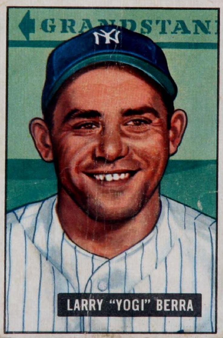 Yogi Berra -Bowman (1951)