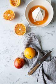 Blood orange, smoked salmon and edamame salad with mint dressing / Sonja Dahlgren/Dagmar's Kitchen