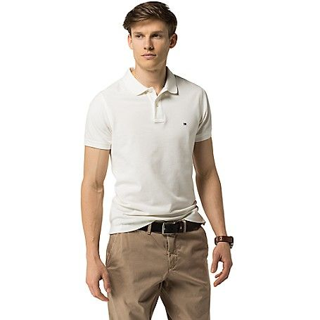 Image for SLIM FIT CONTRAST UNDER-COLLAR POLO from Tommy Hilfiger USA