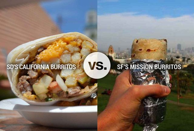 10 Reasons SD California Burritos Destroy SF Mission Burritos