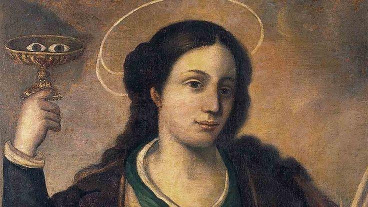 Homilia Diária.403: Memória de Santa Luzia, Virgem e Mártir