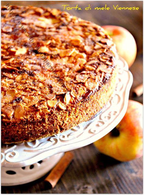 CIBO,VINO E PAROLE: Torta di mele Viennese