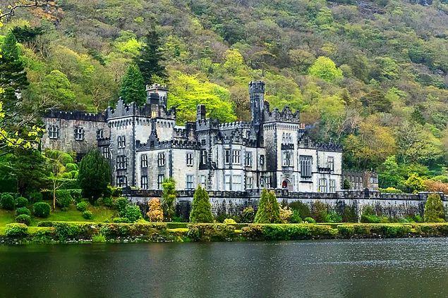 Kylemore Abbey - İrlanda