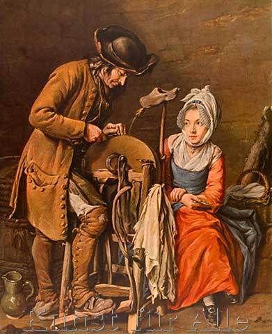 Le rémouleur by Nicolas Bernard Lépicié 1731
