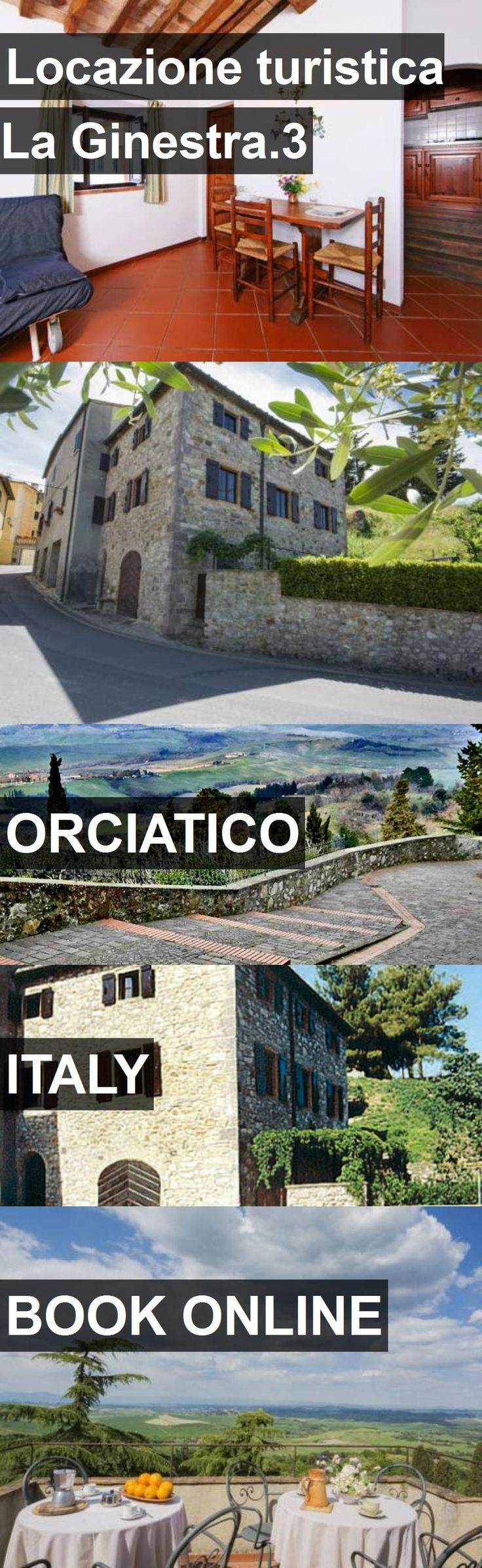 Hotel Locazione turistica La Ginestra.3 in Orciatico, Italy. For more information, photos, reviews and best prices please follow the link. #Italy #Orciatico #travel #vacation #hotel