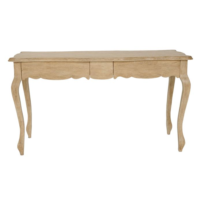 Lovely lines without being too ornate, this desk is a