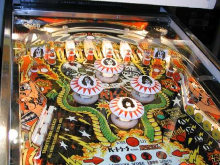 Kiss Pinball. 8 Great Pinball Machines with Rock - adamharkus.com